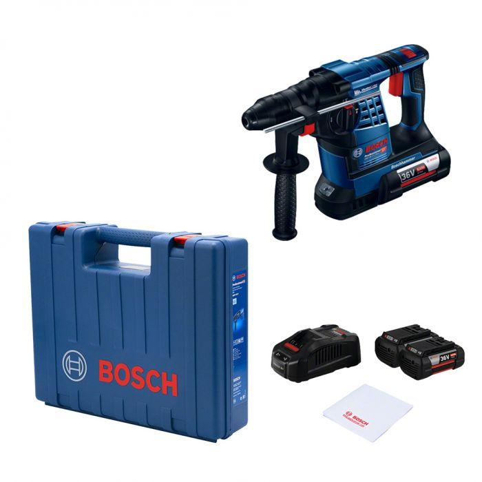 Martelo Perfurador Rompedor a bateria de 36V GBH 36V-LI Plus Bosch (Default)