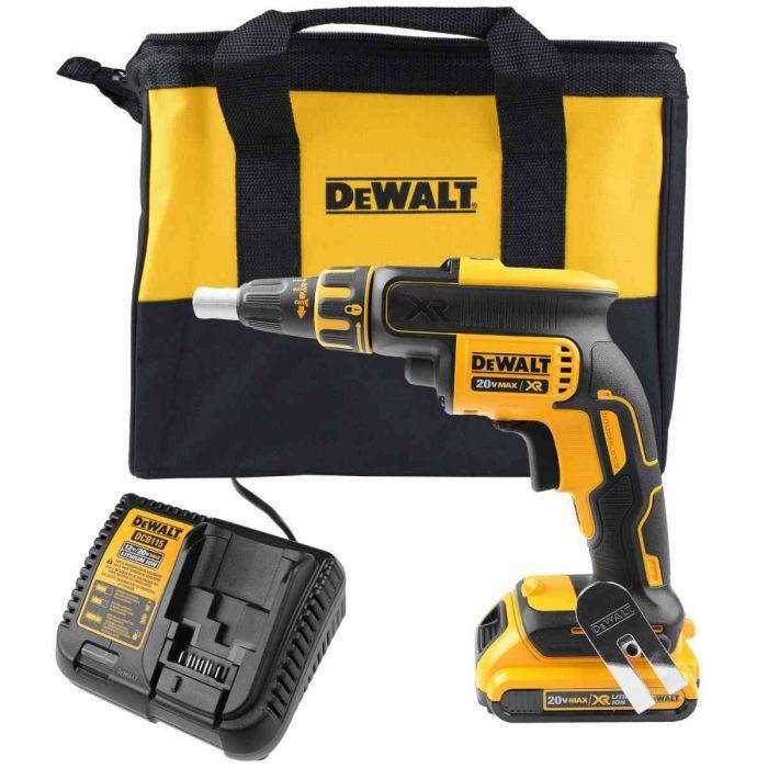"Parafusadeira a Bateria Drywall 1/4""Mm Dcf620D2Br Dewalt"