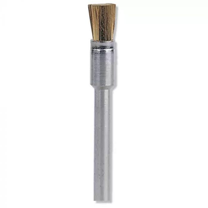 """Escova Pincel de Latão 1/8"""" (3,2mm) Dremel 537"""