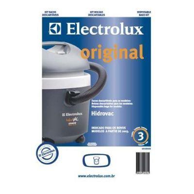 Kit Saco Descartável para Aspirador de Pó Hidrovac c/ 3pçs Electrolux
