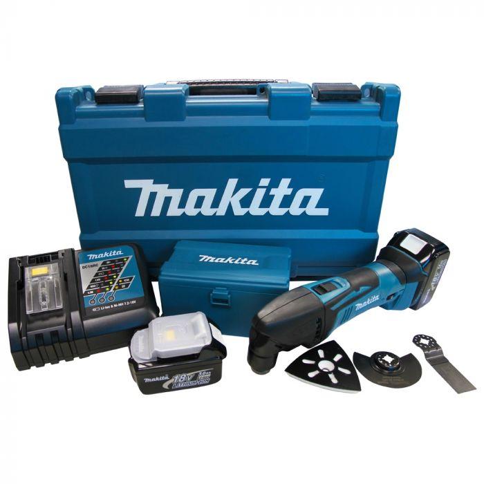 Multicortadora a Bateria 18V Bivolt C/acessorios + Maleta