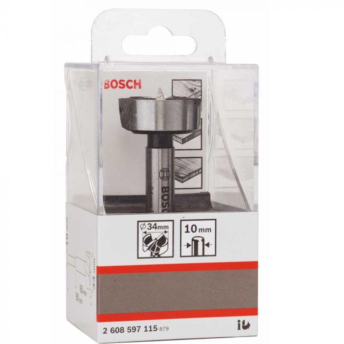 Broca para Madeira Fresadora Forstner 34mm- Bosch