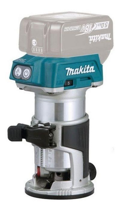 Tupia a Bateria 18V Makita 6&8MM S/Bateria S/Carregador