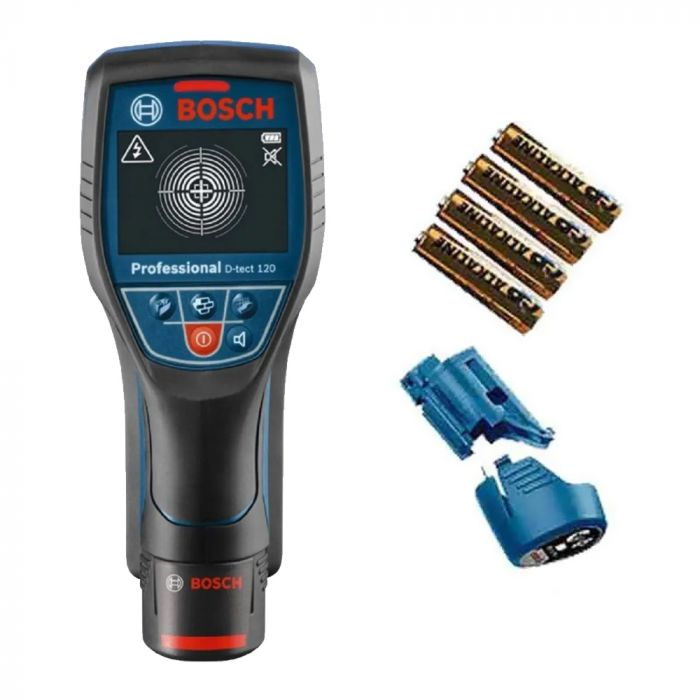Detector e Scanner de Materiais até 120 milimetros D-TECT 120 - Bosch