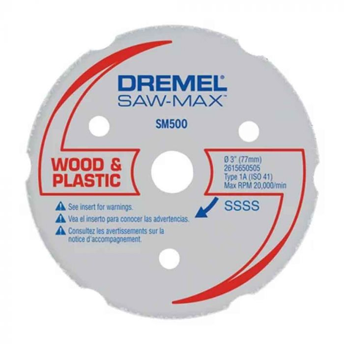 Disco de Corte Multiuso Saw-Max SM500 - Dremel