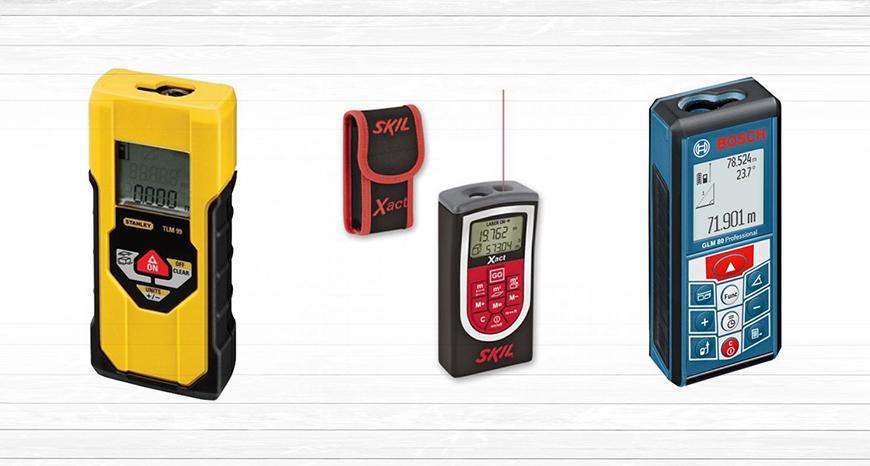 Trena a laser, mais precisão e agilidade nas medições de distancia